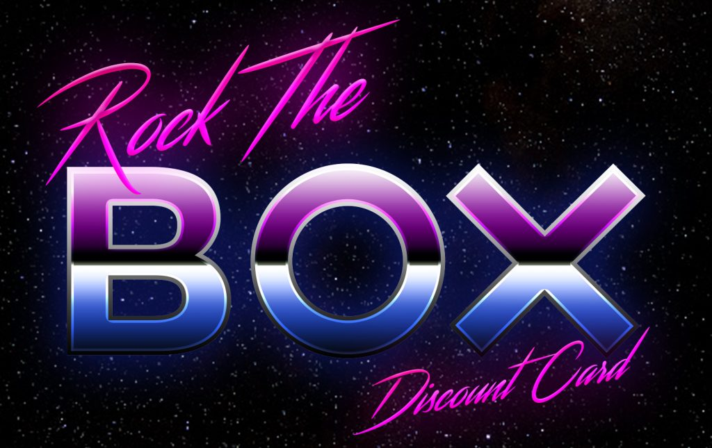 Rock the BOX front