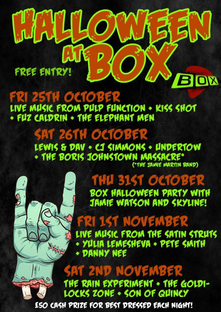 Halloween at BOX (+STRUTS)